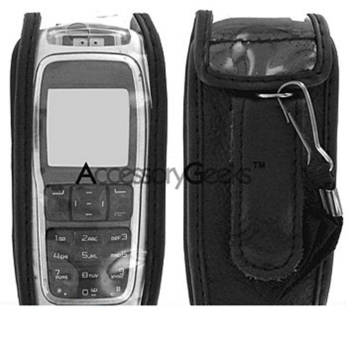 Kyocera KX13 Dorado Leather Case - Black