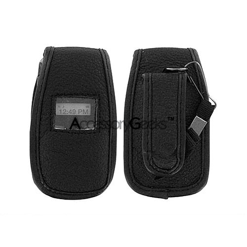 LG LX150 Leather Case - Black