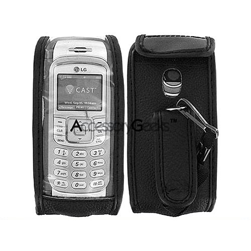 LG VX9900 enV Leather Case - Black