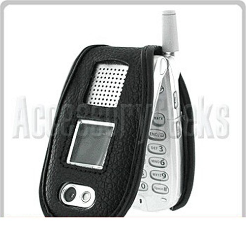 Leather Case for Motorola V180