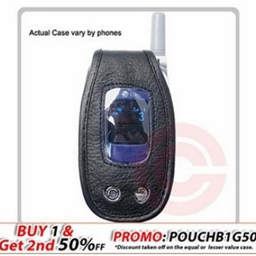 Swivel Leather Case - Motorola v600