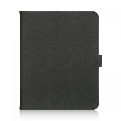 Tablet Case [Black] Slim Protective PU Leather Tablet Case w/ Slots (for 9-10 inch Tablets)