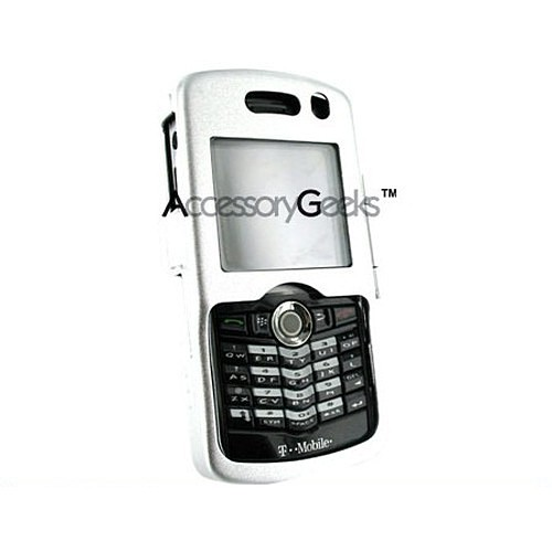 Blackberry 8100 Pearl Silver Metal Armor Case