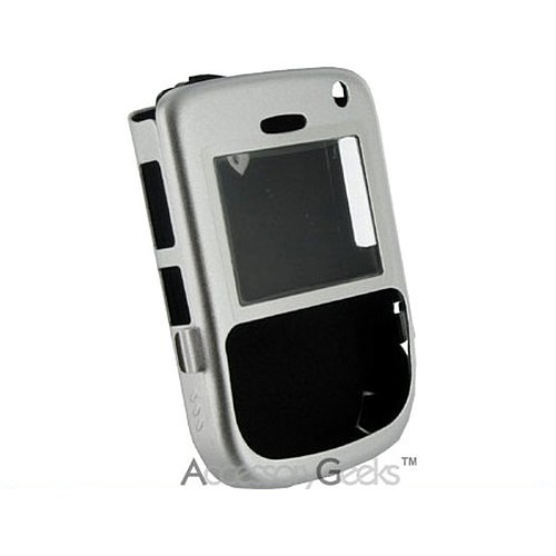 BlackBerry 8700 Metal Armor Case - Silver