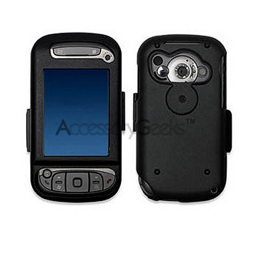 HTC Cingular 8525 Metal Armor Case - Black