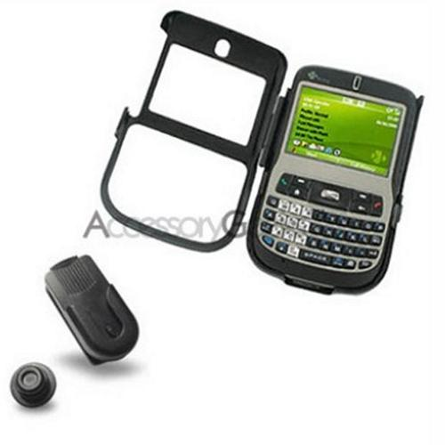 T-Mobile HTC Dash Metal Armor Case - Black
