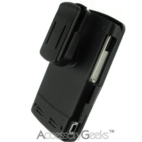 Motorola Q Black Metal Armor Case