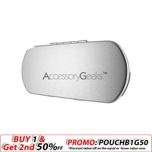 Sony PSP Metal Armor Case - Silver