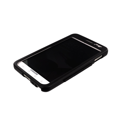 Original Monaco Samsung Galaxy Note Aluminum Case w/ Open Screen Design - Black