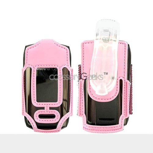 Huawei M318 Clear Case - Baby Pink
