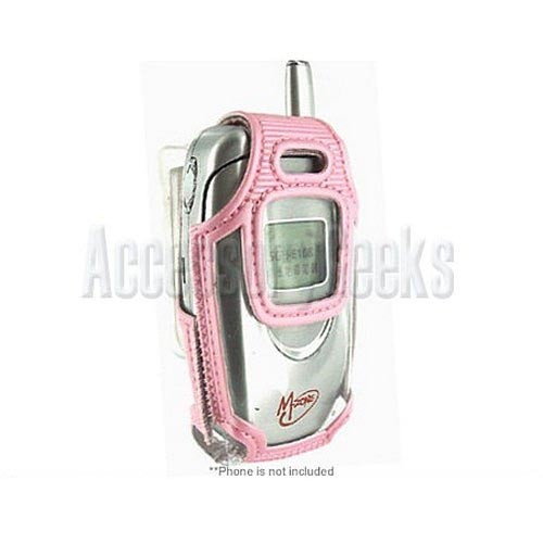 Samsung A580 Pink Clear Case