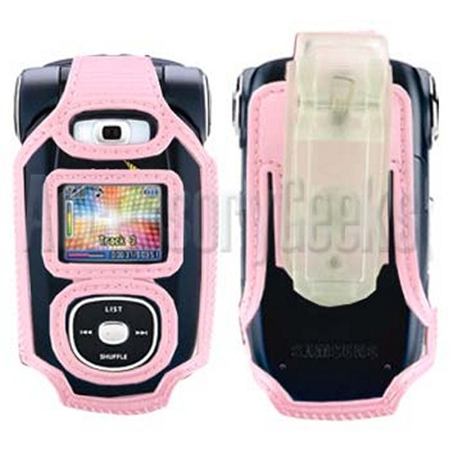Samsung A920 Baby PInk Clear Case