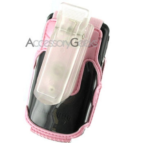 Samsung A930 Pink Clear Case