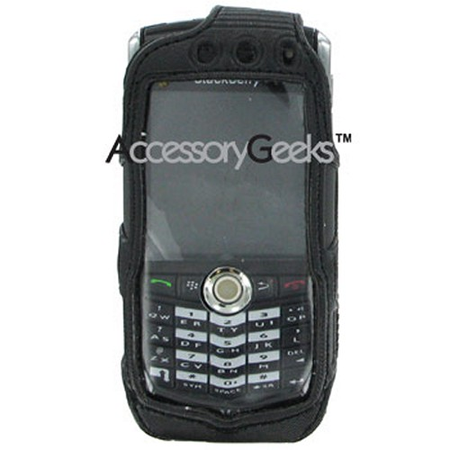Blackberry 8100 Pearl All Black Cyber Case
