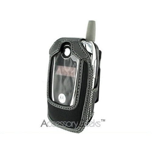 Kyocera KX160 Black with Gray Trim Cyber Case