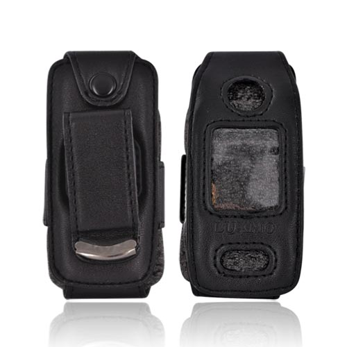 Nokia 6555 Nylon Case Cover - All Black