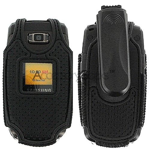 Samsung Omnia nylon Case - Black