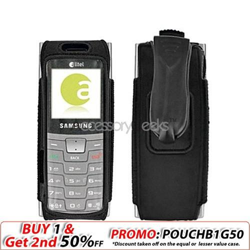 Samsung R200 Nylon Case Cover - All Black