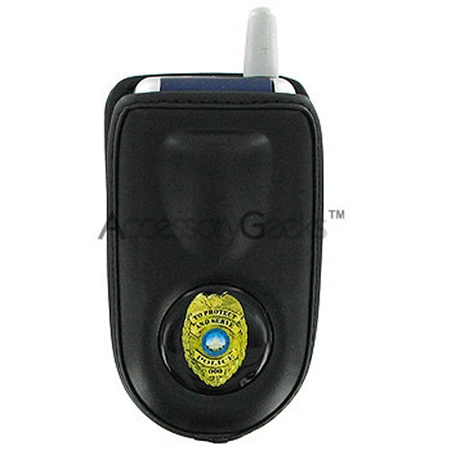 Police Cell Phone Pouch for Flip & Bar Phones