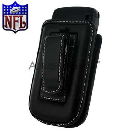 NFL Licensed Vertical Cell Phone Pouch w/ Belt Clip - Denver Broncos