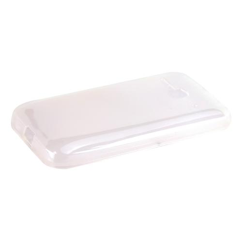 One Touch Evolve 2 Case, [Clear / Frost] Slim & Flexible Crystal Silicone TPU Skin Cover for Alcatel One Touch Evolve 2