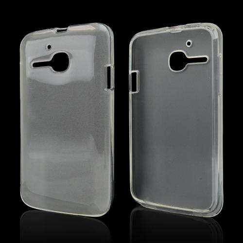 Clear Crystal Silicone Skin Case for Alcatel One Touch Evolve