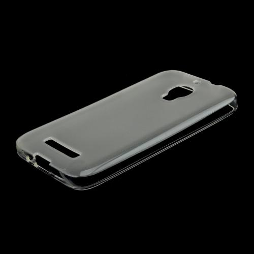 Clear Crystal Silicone Skin Case for Alcatel One Touch Fierce