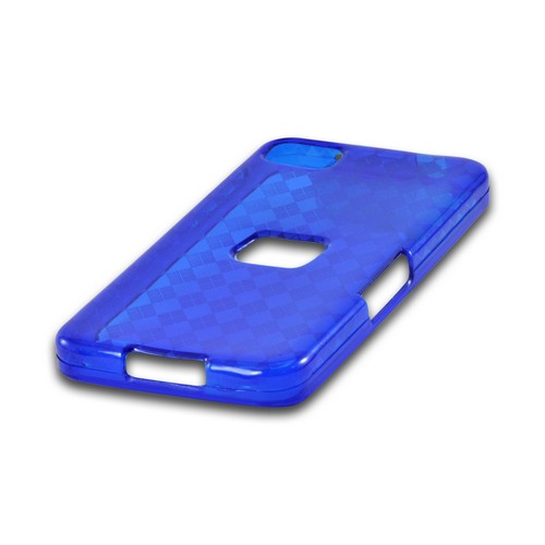 Argyle Blue Crystal Silicone Case for BlackBerry Z10