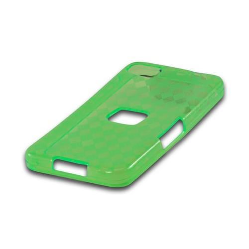 Argyle Green Crystal Silicone Case for BlackBerry Z10