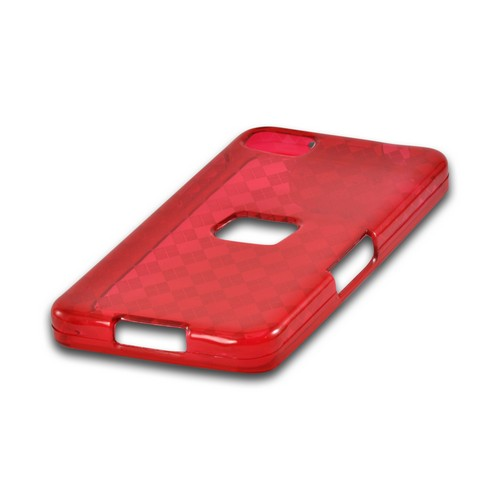 Argyle Red Crystal Silicone Case for BlackBerry Z10