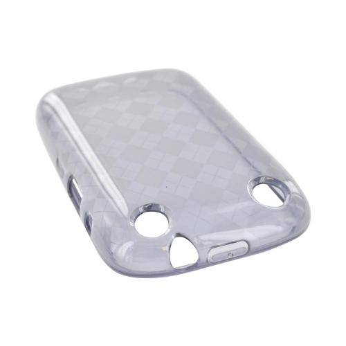 BlackBerry Curve 9310/9320 Crystal Silicone Case - Argyle Smoke