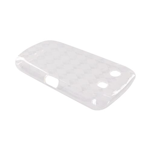 Blackberry Torch 9850 Crystal Silicone Case - Argyle Clear