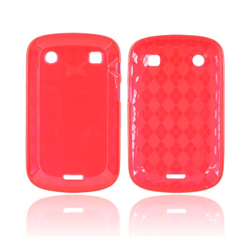 Blackberry Bold 9900, 9930 Crystal Silicone Case - Argyle...