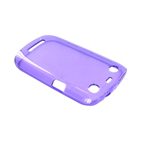 Blackberry Curve 9360/ Apollo Crystal Silicone Case - Purple