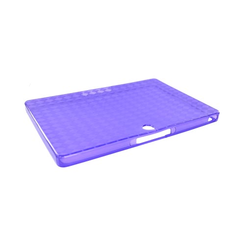 Blackberry PlayBook Crystal Silicone Case - Argyle Purple