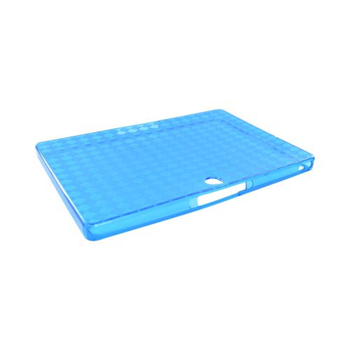 Blackberry PlayBook Crystal Silicone Case - Argyle Blue
