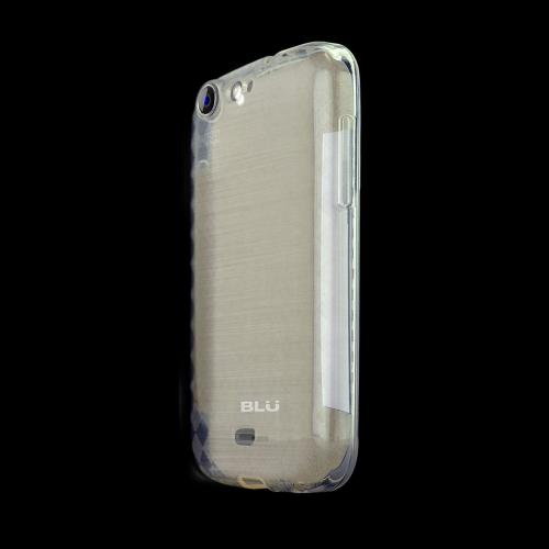 Argyle Clear Crystal Silicone TPU Skin for Blu Life One