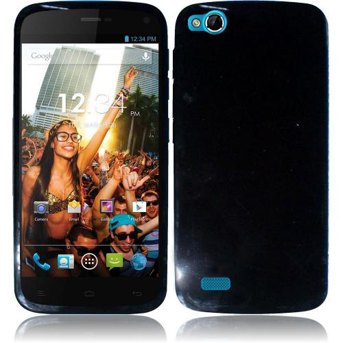 Black (Argyle Interior) Crystal Silicone TPU Skin for Blu Life Play