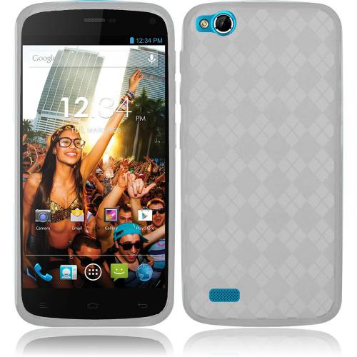 Argyle Clear Crystal Silicone TPU Skin for Blu Life Play