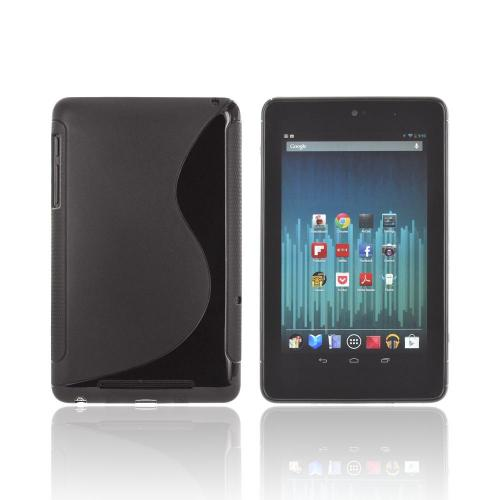 Google Nexus 7 Crystal Silicone Case - Black S