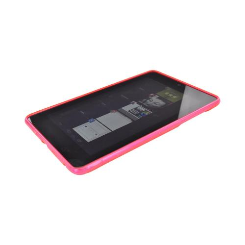 Google Nexus 7 Crystal Silicone Case - Pink S