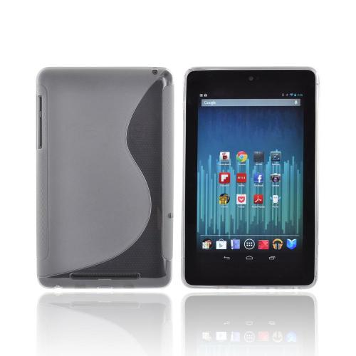 Google Nexus 7 Crystal Silicone Case - Smoke S