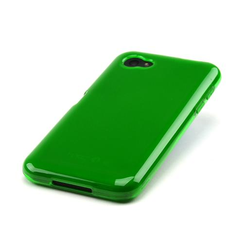 Frosted Neon Green Crystal Silicone Case for HTC First