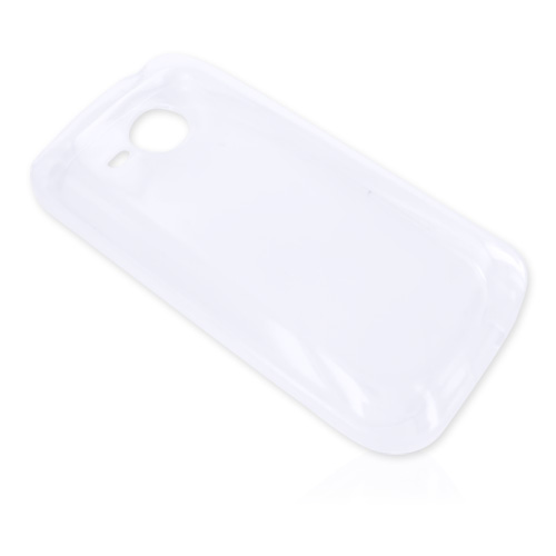 HTC Droid Eris 6200 Crystal Silicone Case - Transparent Clear