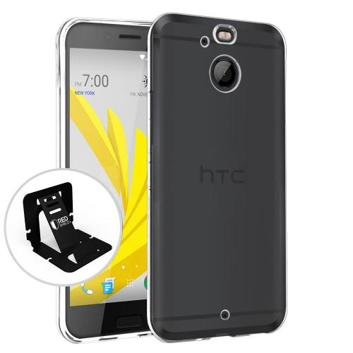 [HTC Bolt] Case, [Clear] Slim & Flexible Anti-shock Crystal Silicone Protective TPU Case
