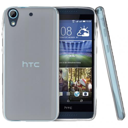HTC Desire 626 Case, [Clear] Slim & Flexible Crystal Silicone TPU Protective Case