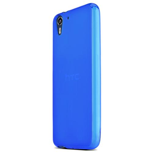 Htc Desire Eye Tpu Case [blue] Protective Bumper Case W/ Flexible Crystal Silicone Tpu Impact Resistant Material