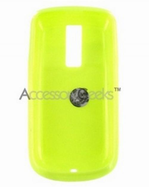 T-Mobile MyTouch 3G Flexi Glow Silicone Case, Rubber Skin - Neon Green