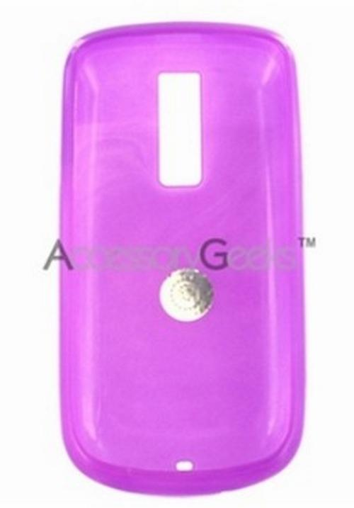 T-Mobile MyTouch G2 Crystal Silicone Case, Rubber Skin – Purple