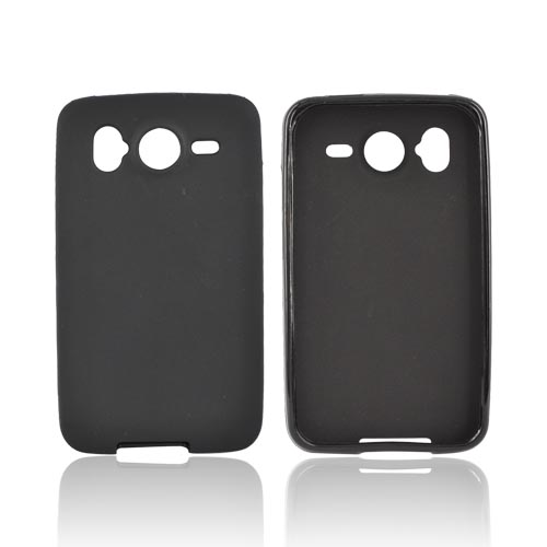 HTC Inspire 4G Crystal Silicone Case - Black